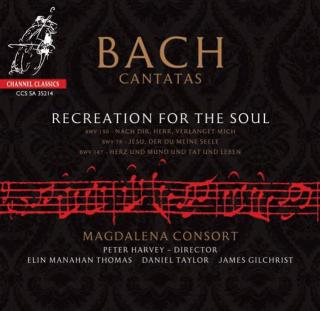 Bach Cantatas: Recreation For The Soul - Magdalena Consort / Harvey, Peter