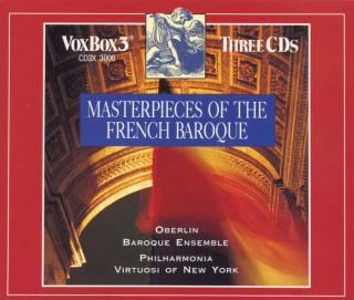 Masterpieces of French Baroque - Philharmonia Virtuosi of New York | Oberlin Baroque Ensemble