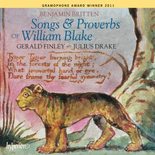 Britten: Songs & Proverbs of William Blake - Finley, Gerald (bariton) / Drake, Julius (piano)