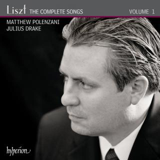 Liszt: The Complete Songs, Vol. 1 - Matthew Polenzani - Polenzani, Matthew (tenor) / Drake, Julius (piano)