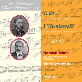 The Romantic Piano Concerto, Vol. 52 - Goetz & Wieniawski