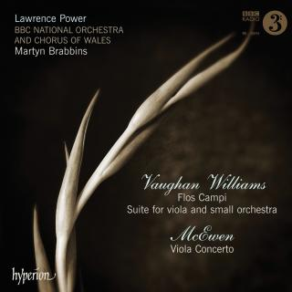 Vaughan Williams/McEwen: Flos Campi & Viola Concerto - Power, Lawrence (bratsj) / BBC National Orchestra of Wales / Brabbins, Martyn