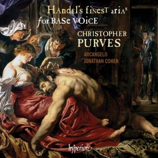 Handel: Finest Arias for Base Voice - Purves, Christopher (bariton) / Arcangelo / Cohen, Jonathan
