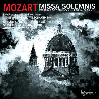 Mozart: Missa solemnis & other works - St Paul's Cathedral Choir / St Paul's Mozart Orchestra / Carwood, Andrew