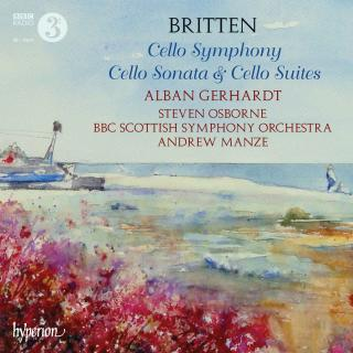 Britten: Cello Symphony, Cello Sonata & Cello Suites - Gerhardt, Alban (cello)