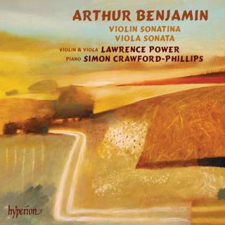Arthur Benjamin: Violin Sonatina & Viola Sonata - Power, Lawrence (bratsj) / Crawford-Phillips, Simon (piano)