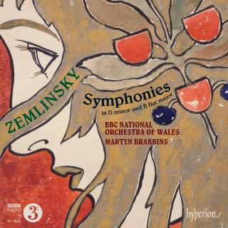 Zemlinsky: Symphonies in D minor & B flat major - BBC National Orchestra of Wales / Brabbins, Martyn