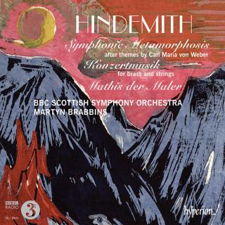Hindemith: Symphonic Metamorphosis & other orchestral works - BBC Scottish Symphony Orchestra / Brabbins, Martyn