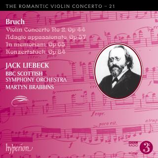 The Romantic Violin Concerto, Vol. 21 - Bruch 2 - Liebeck, Jack (fiolin) / BBC Scottish Symphony Orchestra / Brabbins, Martyn
