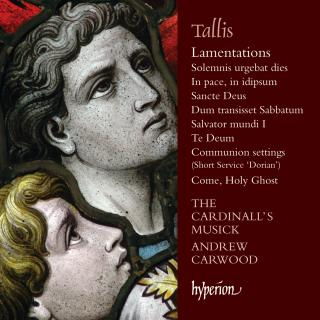 Tallis: Lamentations & other sacred music - The Cardinall's Musick / Carwood, Andrew