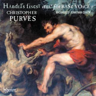 Handel: Finest Arias for Base Voice, Vol. 2 - Purves, Christopher (bariton)