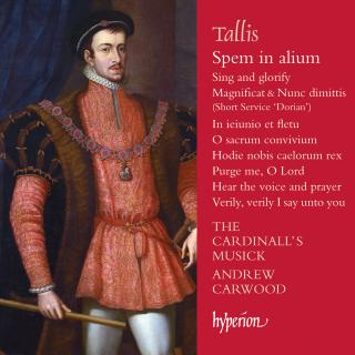 Tallis: Spem in alium & other sacred music - The Cardinall's Musick / Carwood, Andrew