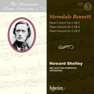 The Romantic Piano Concerto, Vol. 74 - Bennett 1-3 - Shelley, Howard (piano) / BBC Scottish Symphony Orchestra / Shelley, Howard