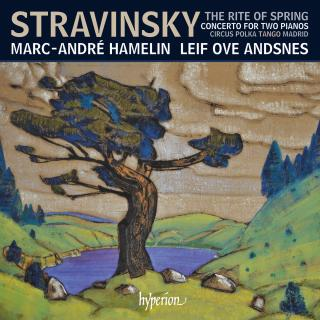 Stravinsky: The Rite of Spring & other works for two pianos four hands - Hamelin, Marc-André (piano) / Andsnes, Leif Ove (piano)