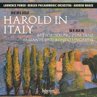 Berlioz: Harold in Italy & other orchestral works - Power, Lawrence (bratsj) / Bergen Philharmonic Orchestra / Manze, Andrew