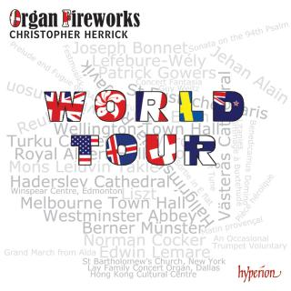 Organ Fireworks World Tour - Herrick, Christopher (orgel)