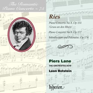 The Romantic Piano Concerto, Vol. 75 - Ries - Lane, Piers (piano) / The Orchestra Now / Botstein, Leon