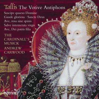 Tallis: The Votive Antiphons - The Cardinall's Musick / Carwood, Andrew