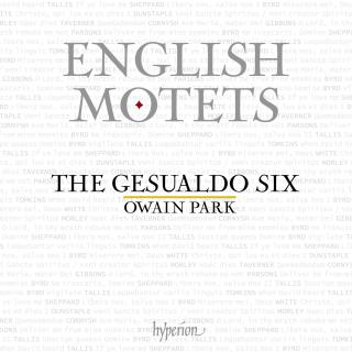 English Motets - The Gesualdo Six / Park, Owain