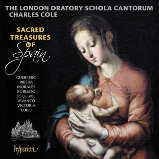 Sacred treasures of Spain - The London Oratory Schola Cantorum / Cole, Charles