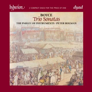 Boyce: Trio Sonatas - The Parley of Instruments / Holman, Peter