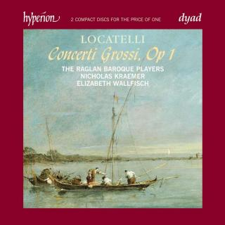 Locatelli: Concerti Grossi, Op. 1 - Wallfisch, Elizabeth (fiolin) / The Raglan Baroque Players / Kraemer, Nicholas