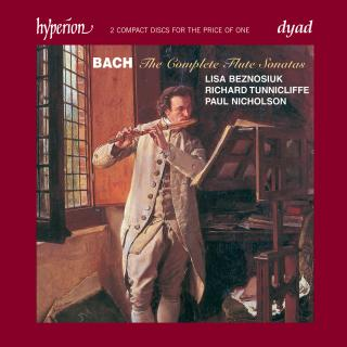 Bach: The Complete Flute Sonatas - Beznosiuk, Lisa (fløyte) / Nicholson, Paul (cembalo) / Tunnicliffe, Richard (cello)