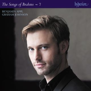 Brahms: The Complete Songs, Vol. 7 - Benjamin Appl - Appl, Benjamin (baritone) / Johnson, Graham (piano)