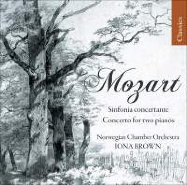 Mozart - Sinfonia concertante & Concerto for two pianos <span>-</span> Det Norske kammerorkester / Brown, Iona