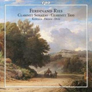 Ries: Clarinet Chamber Music - Kloecker, Dieter (clarinet)/Fromm, Armin (violoncello)/Duis, Thomas (piano)