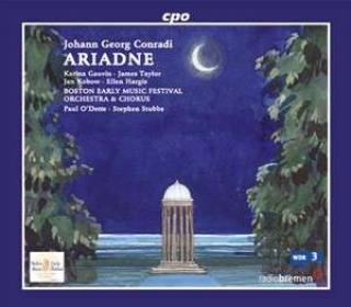 Conradi: Ariadne - Borden/Orch.&Chorus of the Boston Early Music Fest/O'Dette, P//Stubbs, S.