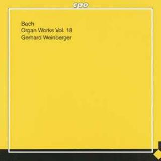 Bach: Organ Works On Historical Instruments Vol. 18 - Weinberger, Gerhard