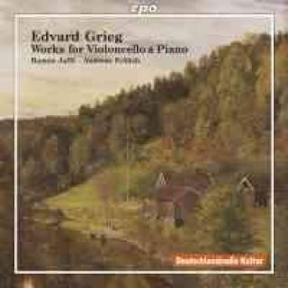 Grieg: Works For Violoncello & Piano - Jaffé/Froelich