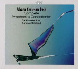 Jc Bach: Complete Symphonies Concertantes - The Hanover Band/Halstead, A.
