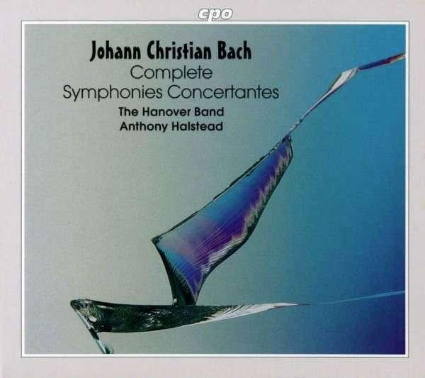 Jc Bach: Complete Symphonies Concertantes <span>-</span> The Hanover Band/Halstead, A.
