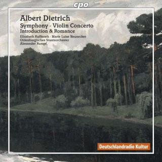 Dietrich: Symphony Op.20/Violin Concerto - Oldenburgisches Staatsorchester/Rumpf, A.