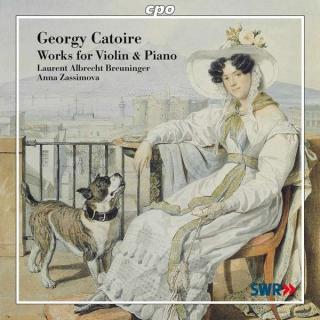 Catoire: Works For Violin & Piano - Breuninger/Zassimova