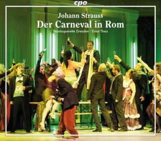 J Strausss: Der Carneval In Rom - Soloists/Staatsoperette Dresden/Theis, E.
