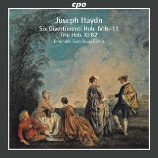 Haydn: Six Divertimenti Hob. Iv:6-11 - Ensemble Sans Souci Berlin