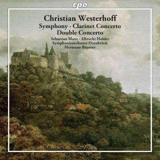 Westerhoff: Clarinet Concerto/Symphony In Eb Maj/... - Manz/Holder/Symphonieorchester Osnabrueck/Baeumer, H.