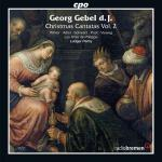 Gebel: Christmas Cantatas Vol.2 <span>-</span> Winter/Adler/Schwarz/Post/Les Amis de Philippe/.../Ludger, R.