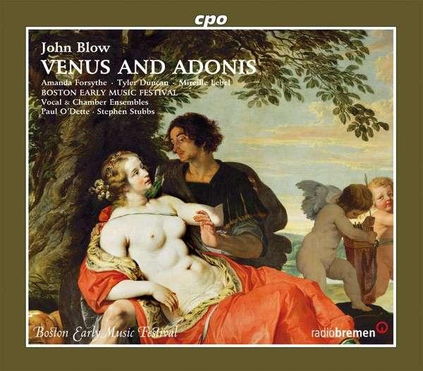 Blow: Venus And Adonis <span>-</span> Boston Early Music Festival/O?Dette/Stubbs