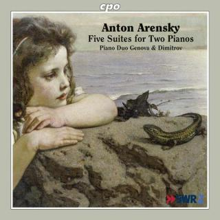 Arensky: Five Suites For Two Pianos - Genova & Dimitrov Piano Duo