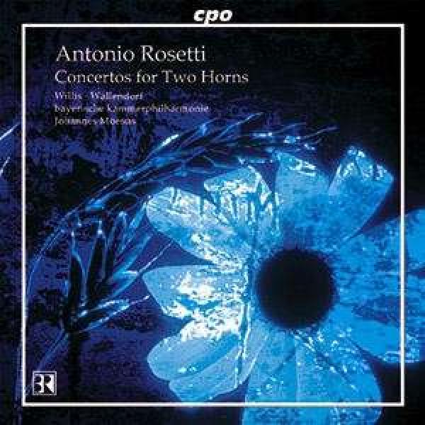 Rosetti: Horn Concertos (Cd Catalogue 2012) <span>-</span> Wallendorf/Willis/Kurpfälzisches Kammerorchester/Moesus, J.