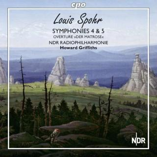 Spohr: Symfonier Nr. 4 & 5 - Vol.4 - Howard Griffiths