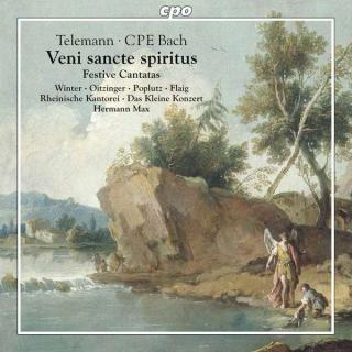 Telemann, Georg & Bach, Carl Philip Emanuel: Church Music - Max, Hermann
