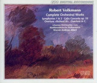 Volkmann: Complete Orchestral Works/Symphonies Nos 1 & 2