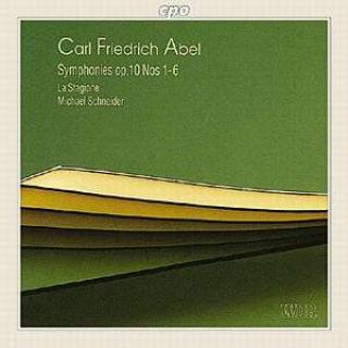 Abel: Symphonies Op. 1n° 1-6 - La Stagione (on period instruments)/Michael, S.
