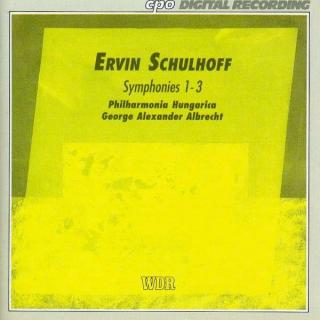 Schulhoff: Symphonies Nos 1-3 - Philharmonia Hungarica/Albert, W. A.