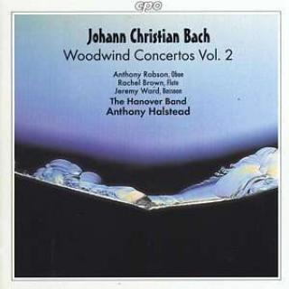 Jc Bach: Woodwind Concertos Vol 2/Oboe Concerto No 2 In F - Robson/Brown/Ward/The Hanover Band/Halstead, A.
